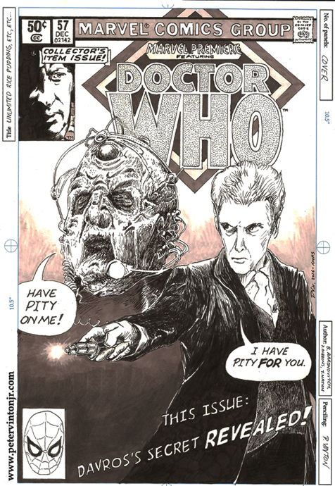 Capaldi kicks off his final series as the Doctor!
