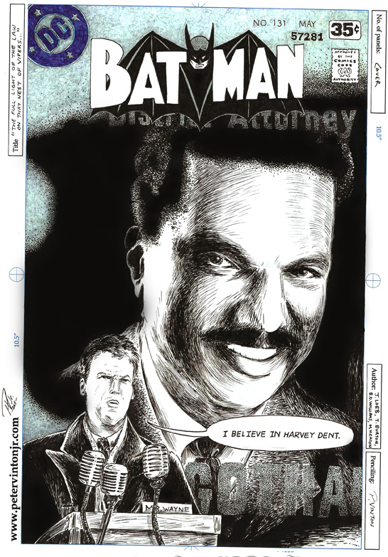 Billy Dee Williams continuing as Harvey Dent: imagine the possibilities!