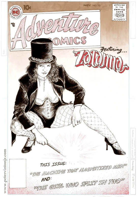This ZATANNA piece premiered at VT Comic Con 2017.  Thank you Kamela!